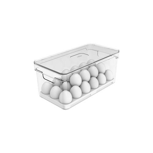 Organizador-de-Ovos-Com-Tampa-36-Unidades-Clear-Fresh-Ou