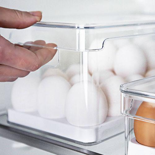 Organizador-de-Ovos-Com-Tampa-36-Unidades-Clear-Fresh-Ou-Ambientada-1
