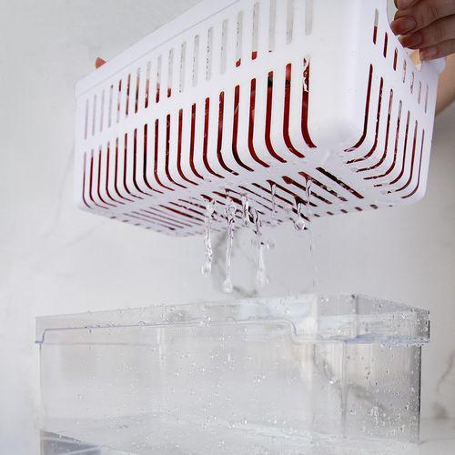 Organizador-De-Geladeira-Com-Cesto-Clear-Fresh-30-x-15-x-13cm-Ou-Ambientada-4