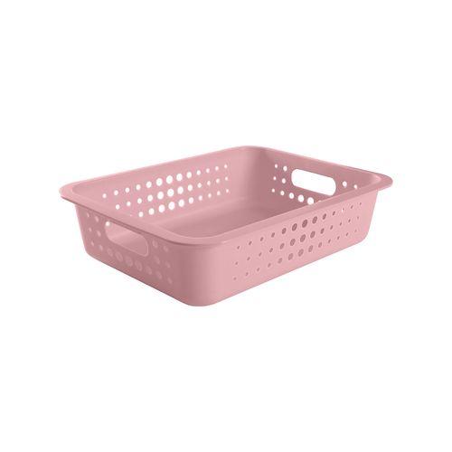 Cesta-Organizadora-G-9-Litros-41-x-31-x-10cm-Rosa-Quartz