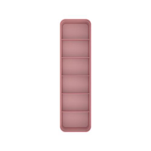 Organizador-De-Gavetas-Colmeia-Logic-P-35-x-10-x-75cm-Ou-Rosa-Quartz-Top