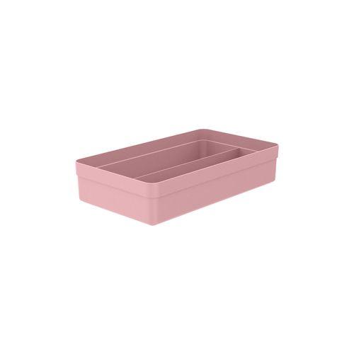 Organizador-De-Gavetas-2-Sessoes-Colmeia-Logic-35-x-20-x-75cm-Ou-Rosa-Quartz
