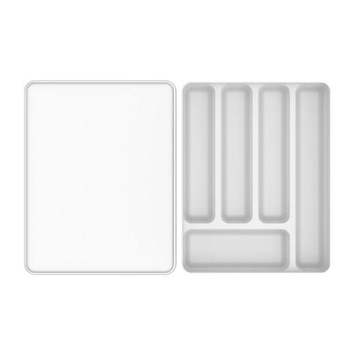 Organizador-De-Talheres-Com-Tampa-Logic-35-x-275-x-755cm-Ou-Branco-Top