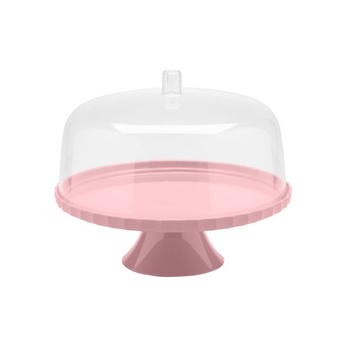 Boleira-Festa-30-cm-Com-Pe-Ou-rosa-quartz