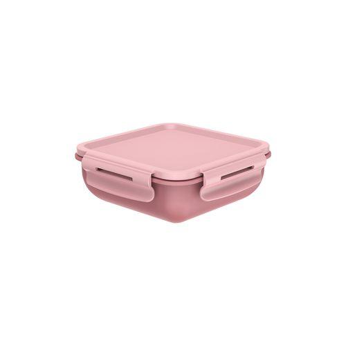 Marmita-Hermetica-Quadrada-Com-Divisoria-14-x-14-x-55cm-Rosa-Quartz