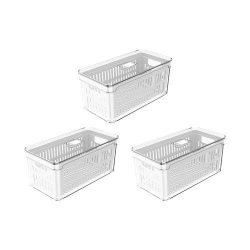 Conjunto-Organizador-de-Geladeira-Clear-Fresh-30x15x13-com-Cesto-3-pecas