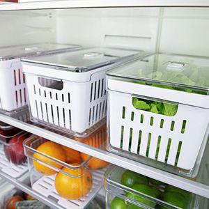 Conjunto-Organizador-de-Geladeira-Clear-Fresh-30x15x13-com-Cesto-3-pecas-Ambientada-1