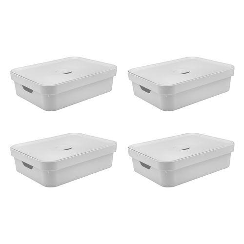 Conjunto-Caixa-Organizadora-Cube-com-Tampa-105-Litros-4-pecas-Branco