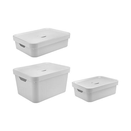 Conjunto-Caixa-Organizadora-Cube-com-Tampa-3-pecas-Branco