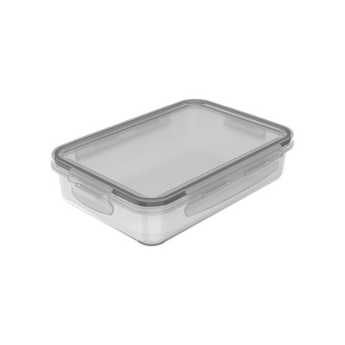 Pote-Organizador-Geladeira-Click-Retangular-870ml-Natural